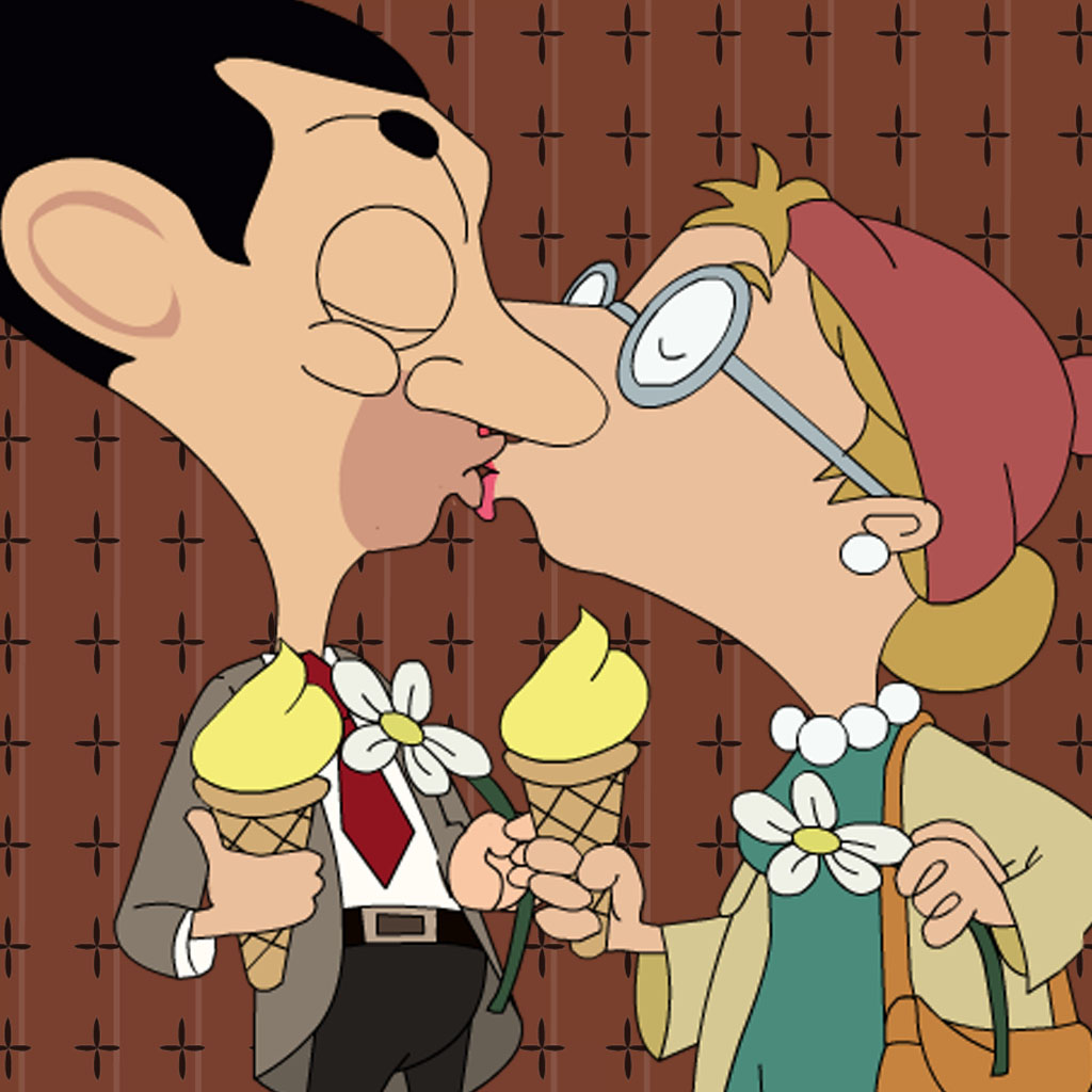 Kissing For Mr.Bean Version by cecil kennedy icon